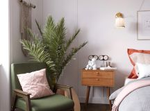 Earthy Eclectic Scandinavian Style Interior images 17