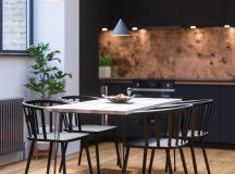 33 Black Dining Rooms That Your Dinner Guests Will Adore images 19