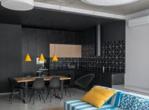 33 Black Dining Rooms That Your Dinner Guests Will Adore images 10