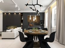 33 Black Dining Rooms That Your Dinner Guests Will Adore images 16