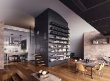 33 Black Dining Rooms That Your Dinner Guests Will Adore images 20