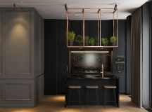 Modern Dark Interior Design images 7