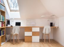 Scandinavian Style Interior With Pink And Blue Accents images 17