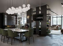 33 Black Dining Rooms That Your Dinner Guests Will Adore images 4