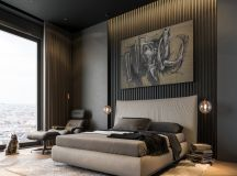 Modern Dark Interior Design images 8