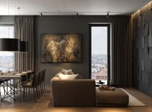 Modern Dark Interior Design images 1