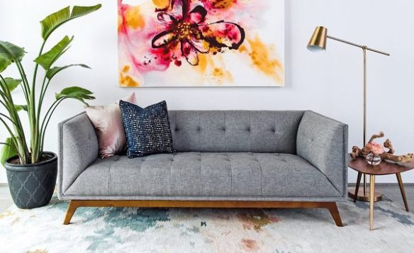 Admirable 30 Mid Century Modern Sofas That Make Your Lounge Look Theyellowbook Wood Chair Design Ideas Theyellowbookinfo