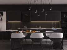 33 Black Dining Rooms That Your Dinner Guests Will Adore images 0