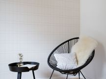 Scandinavian Style Interior With Pink And Blue Accents images 11