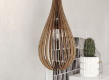 Product Of The Week: Cool Sculptural Wooden Hanging Lights