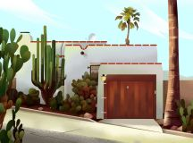 Captivating Architectural Illustrations Of Homes Around The World images 11