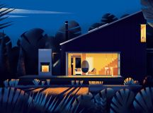 Captivating Architectural Illustrations Of Homes Around The World images 13