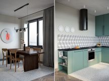 Using Muted Colours and Shapes As Scandi Style Decor images 26