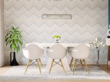33 Dazzling White Dining Rooms Plus Tips To Help You Accessorize Yours images 11