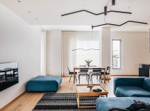 4 Bright & Cheerful Interiors That Use White & Wood To Good Effect images 17