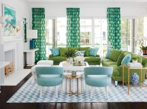 30 Gorgeous Green Living Rooms And Tips For Accessorizing Them images 15