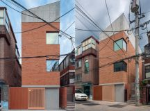 50 Narrow Lot Houses That Transform A Skinny Exterior Into Something Special images 45