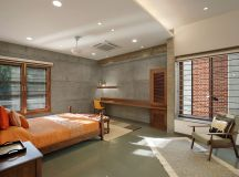 A Colour Rich Indian Home With Concrete Architecture And Interiors images 14