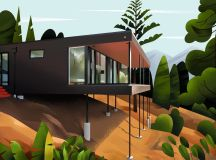 Captivating Architectural Illustrations Of Homes Around The World images 0