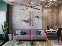 Colourful Boho Industrial Style With Moroccan Accents images 0