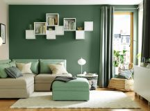 30 Gorgeous Green Living Rooms And Tips For Accessorizing Them images 16