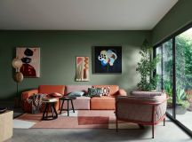 30 Gorgeous Green Living Rooms And Tips For Accessorizing Them images 2