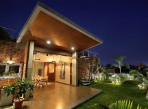 A Colour Rich Indian Home With Concrete Architecture And Interiors images 25