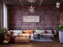 Colourful Boho Industrial Style With Moroccan Accents images 20
