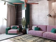 Colourful Boho Industrial Style With Moroccan Accents images 1