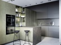33 Gorgeous Green Kitchens And Ways To Accessorize Them images 18