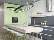 33 Gorgeous Green Kitchens And Ways To Accessorize Them images 25