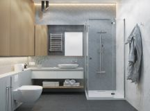 36 Modern Grey & White Bathrooms That Relax Mind Body & Soul images 16