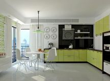 33 Gorgeous Green Kitchens And Ways To Accessorize Them images 15