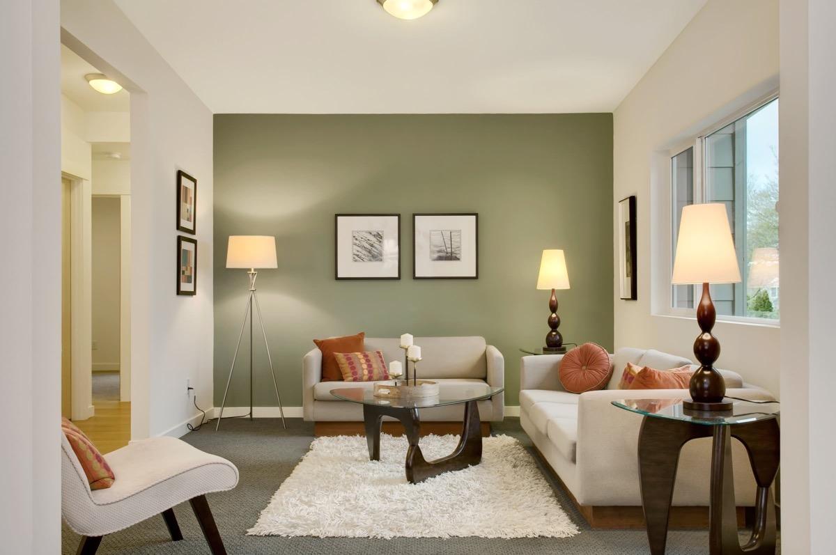 Olive Green Wall Interior Novocom Top
