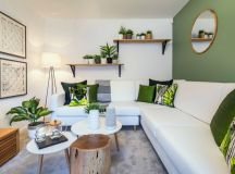 30 Gorgeous Green Living Rooms And Tips For Accessorizing Them images 20