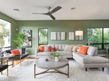 30 Gorgeous Green Living Rooms And Tips For Accessorizing Them images 4