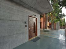 A Colour Rich Indian Home With Concrete Architecture And Interiors images 1