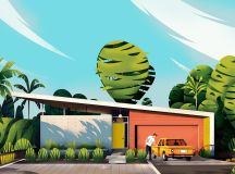 Captivating Architectural Illustrations Of Homes Around The World images 6