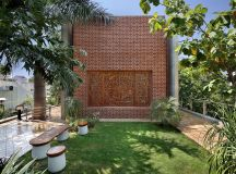 A Colour Rich Indian Home With Concrete Architecture And Interiors images 24