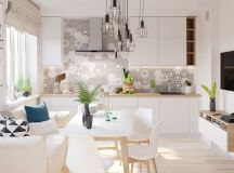 4 Bright & Cheerful Interiors That Use White & Wood To ...