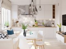 4 Bright & Cheerful Interiors That Use White & Wood To Good Effect images 1