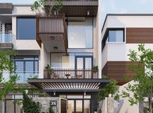 50 Narrow Lot Houses That Transform A Skinny Exterior Into Something Special images 25