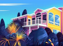 Captivating Architectural Illustrations Of Homes Around The World images 12