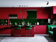 33 Gorgeous Green Kitchens And Ways To Accessorize Them images 23