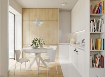 4 Bright & Cheerful Interiors That Use White & Wood To Good Effect images 13