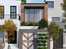 50 Narrow Lot Houses That Transform A Skinny Exterior Into Something Special images 43