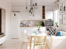 4 Bright & Cheerful Interiors That Use White & Wood To Good Effect images 0