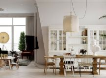 33 Dazzling White Dining Rooms Plus Tips To Help You Accessorize Yours images 29