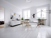 33 Dazzling White Dining Rooms Plus Tips To Help You Accessorize Yours images 15