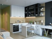 50 Splendid Small Kitchens And Ideas You Can Use From Them images 34